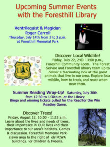Summer Events 07-16